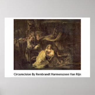 Circumcision By Rembrandt Harmenszoon Van Rijn Posters
