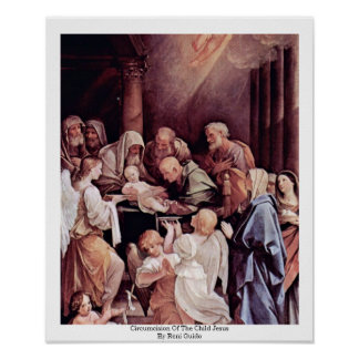 Circumcision Of The Child Jesus By Reni Guido Poster