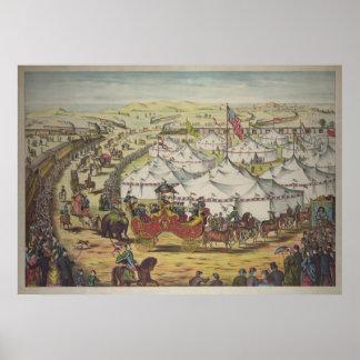 Circus, 1874 poster