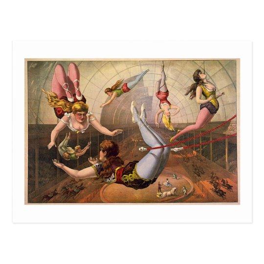 Circus-1890 Postcard