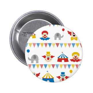 Circus 2 Inch Round Button