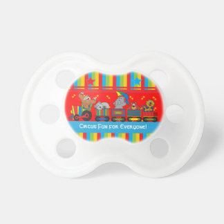 Circus Animal Choo Choo Train Pacifier