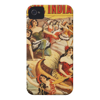 circus art iPhone 4 covers