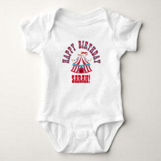 Circus Baby Shirt with Custom Name