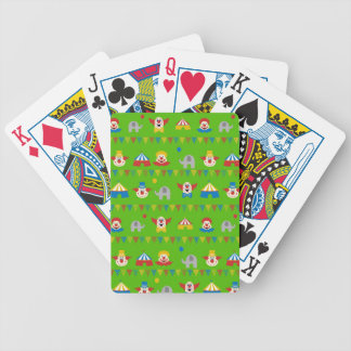 Circus Bicycle Playing Cards