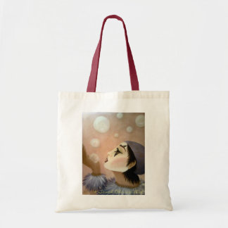 Circus Bubbles Tote Bag
