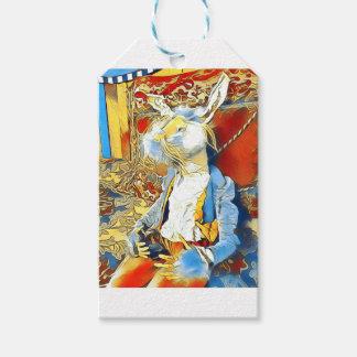 Circus Bunny Gift Tags