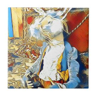 Circus Bunny Tile
