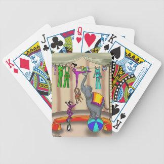 Circus Cartoon 9376 Poker Deck