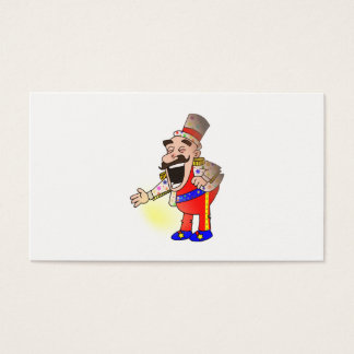 Circus Chef Business Card