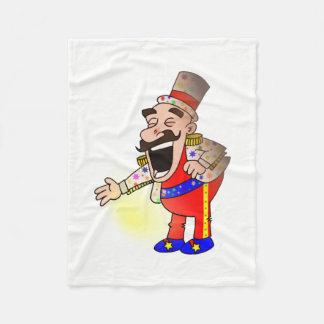 Circus Chef Fleece Blanket