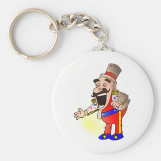 Circus Chef Keychain