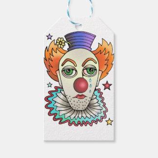 Circus Clown Gift Tags