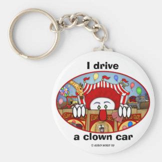 Circus Clown Kilroy Keychain
