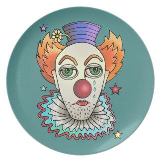 Circus Clown Plate