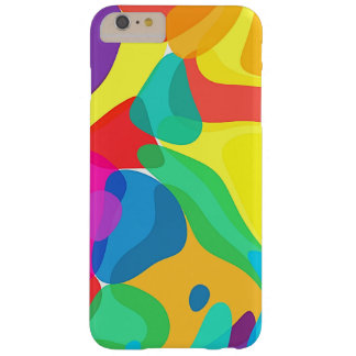 Circus Colors Chaos Abstract Art Pattern Barely There iPhone 6 Plus Case