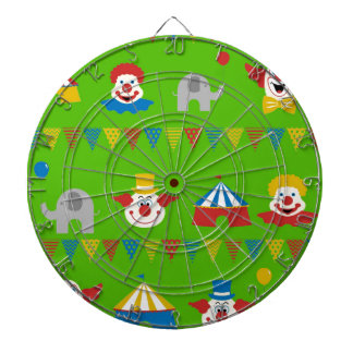 Circus Dartboard With Darts