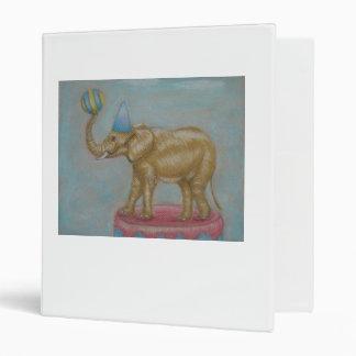 circus elephant 3 ring binders