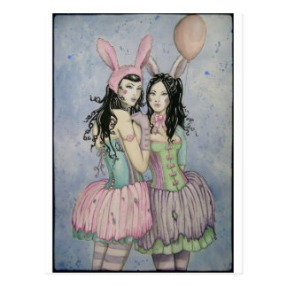 Circus Friends Postcard
