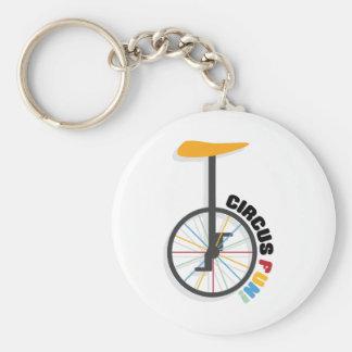 Circus Fun! Basic Round Button Keychain