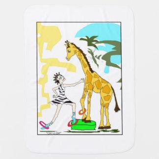 Circus Girl mini Blanket Stroller Blankets