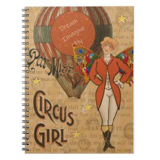 Circus Girl Notebook