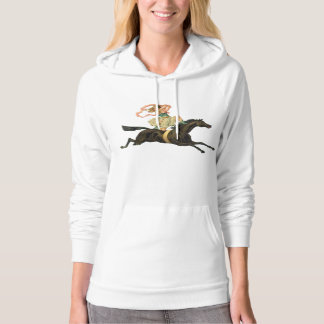 Circus Horse and Dancer Women's Hoodie