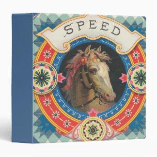 Circus Horse Named Speed Binder