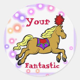 Circus Horse Reward Sticker