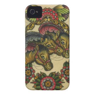 circus horses iPhone 4 case