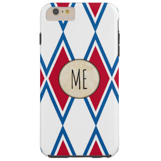 Circus iPhone case with diamond vintage pattterns
