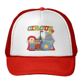 Circus is in Town Tshirts and Gifts Mesh Hat