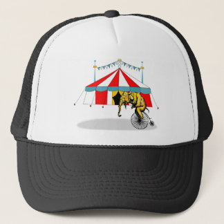 Circus Memorabilia In Memory of Circus Elephants Trucker Hat