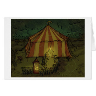 Circus Night Card