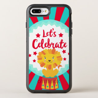 circus OtterBox symmetry iPhone 7 plus case