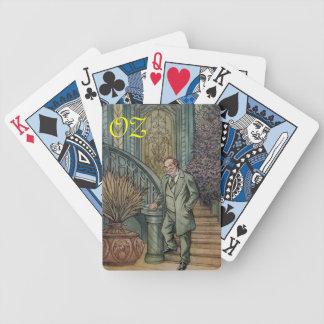 Circus Performer-Oscar Diggs. Bicycle Poker Deck