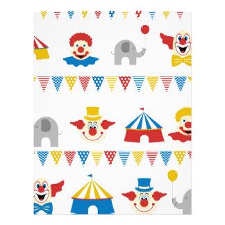 Circus Personalized Letterhead
