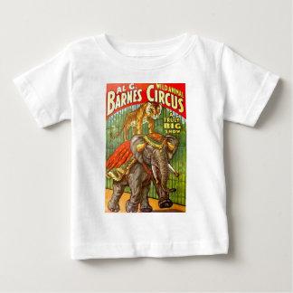Circus Poster Baby T-Shirt