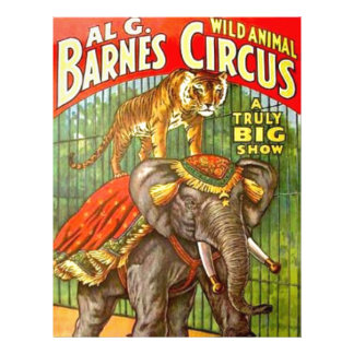Circus Poster Letterhead