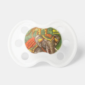 Circus Poster Pacifier