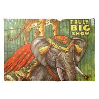 Circus Poster Placemat