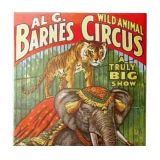 Circus Poster Tile