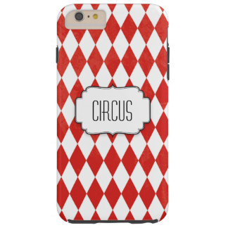 Circus Red Diamonds pattern - Iphone 6+ Case