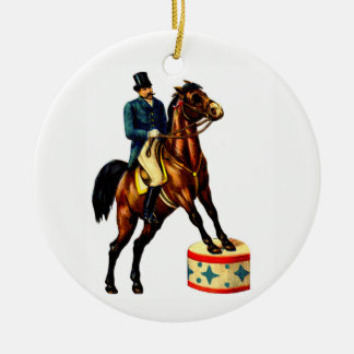 Circus Ringmaster Ceramic Ornament