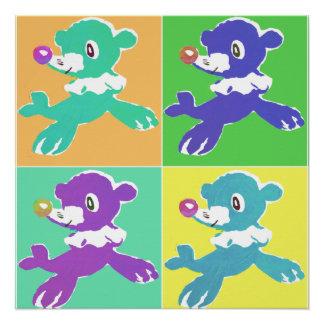 Circus Seal Prints