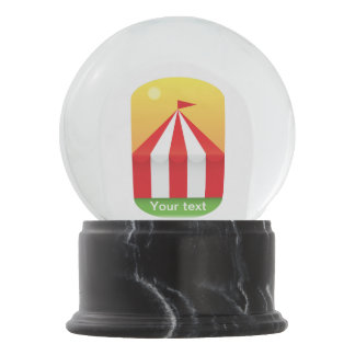 CIrcus Snow Globe