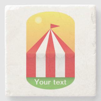 Circus Stone Coaster