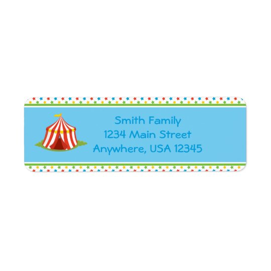 Circus Theme | Circus Tent |  Personalized