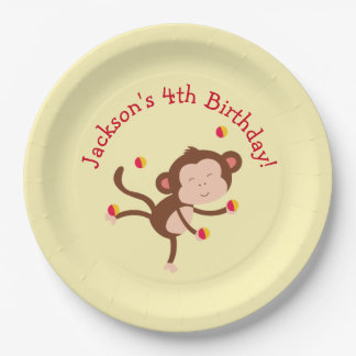 Circus Themed Party Plates for Birthday
