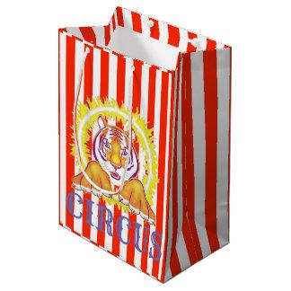 Circus Tiger gift bag